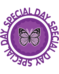 Gemini Circle Sentiments Stamps and Die - Special Day