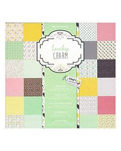 "Craft Sensations 12""x12"" Design Pad 250gsm - Lucky Charm"