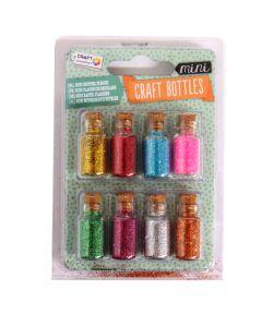 Craft Sensations Mini Craft Bottles - Glitter