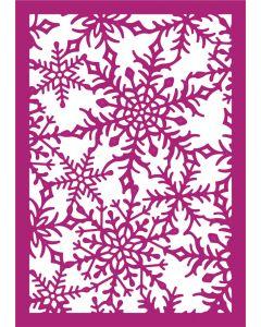 Gemini Create-a-Card Metal Die - Decadent Snowflakes