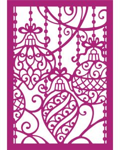 Gemini Create-a-Card Metal Die - Ornamental Baubles