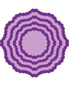 Gemini Elements Nesting Metal Die - Scalloped Edge Circle 2