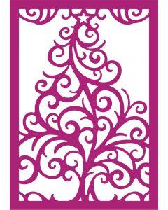 Gemini Create-a-Card Metal Die - Swirling Tree