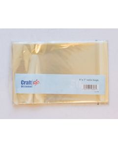 Craft UK 5x7 Cello Bags - pack of 50