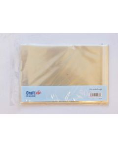 Craft UK A5 Cello Bags - pack of 50