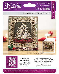 Die'sire Create-a-Card Christmas - Sparkling Spruce