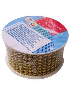 Craft Sensations Diamond Border Roll - Gold
