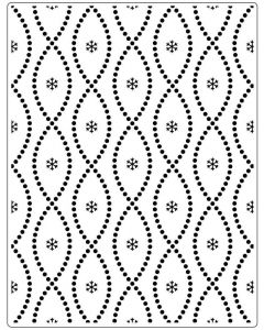 Crafts Too Embossing folder - Seamless Circle