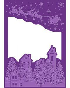 Gemini Cut and Emboss Folder - Christmas Eve