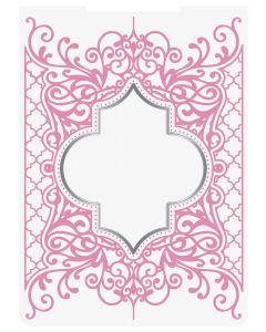 Sara Signature Sew Homemade Cut & Emboss Folder - Decorative Lattice Frame