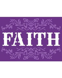 Gemini Cut and Emboss Folder - Faith