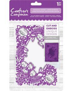 """Crafter's Companion 5""""x7"""" Cut and Emboss Folder - Botanical Garden"""