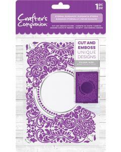 """Crafter's Companion 5""""x7"""" Cut and Emboss Folder - Eternal Elegance"""