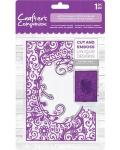 """Crafter's Companion 5""""x7"""" Cut and Emboss Folder - Petite Florals"""