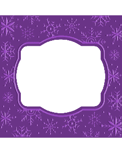 Gemini Cut and Emboss Folder - Snowflake Frame
