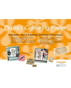 West Design A4 Perfect Colouring Paper 50 Sheets