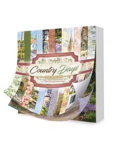 "Hunkydory Country Days 8"" x 8"" Paper Pad"