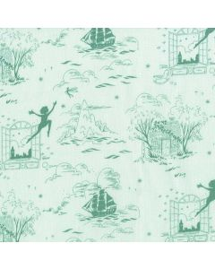 Michael Miller Fabrics Peter Pan Second Star to the Right - Sea