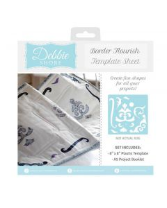 Debbie Shore Template Sheet - Border Flourish