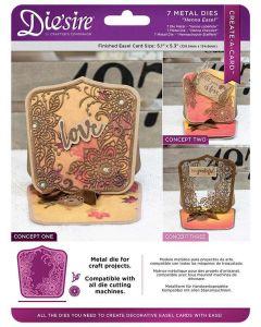 Die'sire Create-a-Card Metal Die - Henna Easel