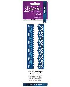 Die'sire Classiques Ribbon Threading Metal Die - Elegance