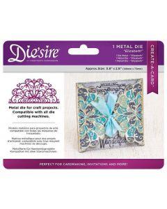 Die'sire Create-a-Card Metal Die - Elizabeth