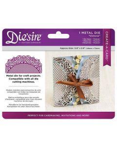 Die'sire Create-a-Card Metal Die - Victoria