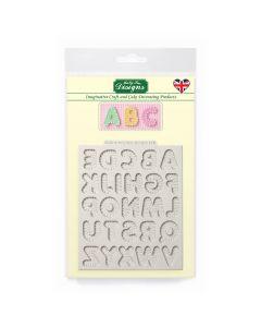 Katy Sue Designs Stitched Alphabet - Small