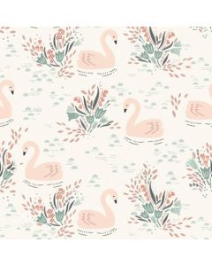 Dashwood Dovestone Collection - Swans on Cream