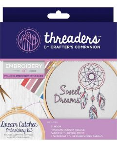Threaders Embroidery Kit - Dream Catcher