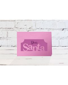 Gemini Stamp and Die - Dear Santa