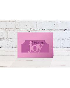 Gemini Christmas Edge'able Stamp and Die - Joy