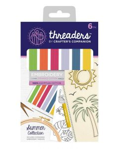 Threaders Stranded Embroidery Cotton - Summer