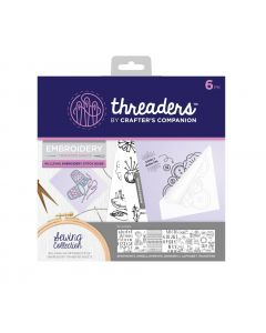 Threaders Embroidery Transfer Sheets - Sewing