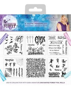 Sara Signature Enchanted Forest - Foil Transfers