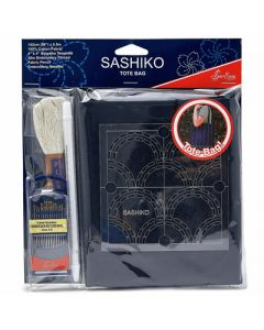 Sew Easy Sashiko Tote Bag Kit