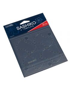 Sew Easy Sashiko 4 inch Template - Fondou (Weights)