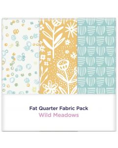 Threaders Fat Quarter Fabric Pack - Wild Meadows 3pc