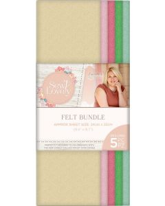 Sara Signature Sew Lovely - Felt Bundle (5PK)