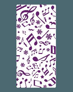 Gemini Embossing Folder - Festive Note