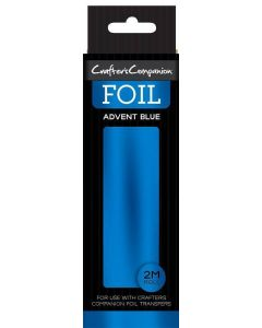 Crafter's Companion Foil Roll - Advent Blue