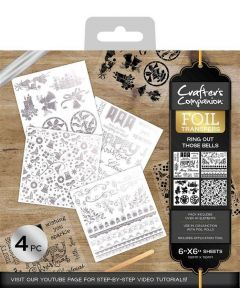 Crafter's Companion Foil Transfers - Ring out Those Bells