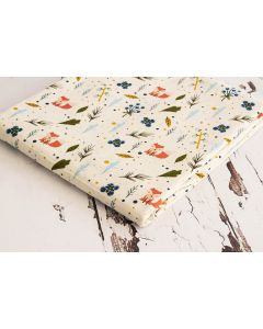 Threaders Fox in the Wood Fabric - Fox in the Wood