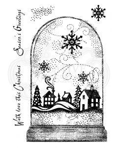 Woodware Clear Singles - Snowglobe