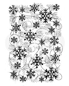 Woodware Clear Singles - Snow Flurry