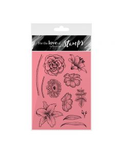 Hunkydory For the Love of Stamps - Floral Sketches