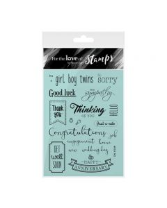 Hunkydory For the Love of Stamps - Occasions