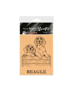 Hunkydory It's a Dog's Life Clear Stamp - Beagle