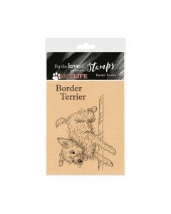 Hunkydory It's a Dog's Life Clear Stamp - Border Terrier