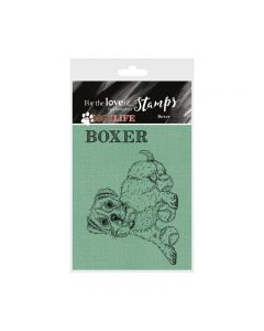 Hunkydory It's a Dog's Life Clear Stamp - Boxer